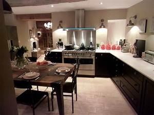 credence inox bricoman fabriquer une armoire paroi With carrelage adhesif salle de bain avec kanlux spot led