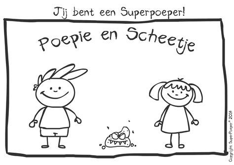 Poep Kleurplaat by Downloads Superpoeper