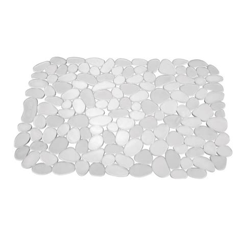 cut to size sink mat mojolondon pebble sink mat clear