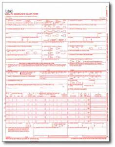 CMS-1500 Claim Form