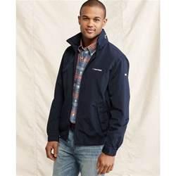 hilfiger designer hilfiger yacht jacket in blue for lyst