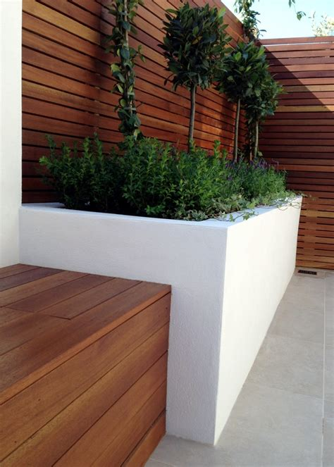 Small Modern Garden Design  London Garden Blog