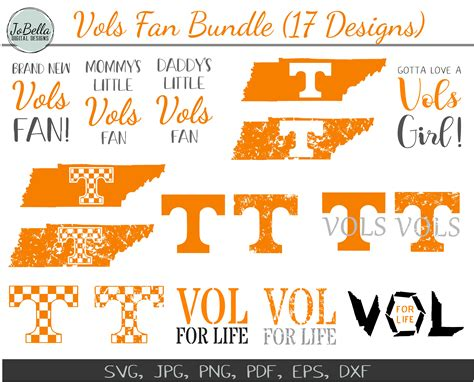 Explore, search and find the best fitting icons or vectors for your projects using wide variety vector library. Tennessee Vols Fan SVG Cut File and Printable Bundle (17 ...