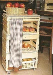 Cagette Bois Deco : chab 39 brico que faire avec des cagettes en bois ~ Teatrodelosmanantiales.com Idées de Décoration