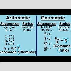 Algebra  Sequences And Series (1 Of 6) An Introduction Youtube