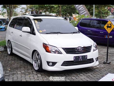 modifikasi kijang innova stance air s with loop youtube for musicians