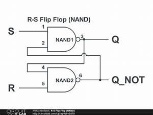 ee2310 lab 3 r s flip flop circuitlab With analog flip flop