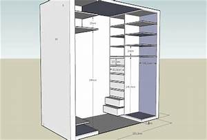 fabriquer tiroir coulissant maison design bahbecom With maison du monde petit meuble 4 dressing portes coulissantes jesse