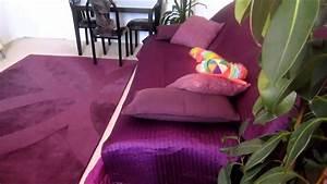 idees pour decorer une chambre avec la couleur pourpre With couleur reposante pour une chambre