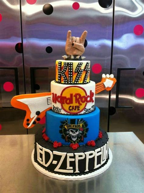 There's now a new faster a song for dad: Pin by Thana Dunn on cake ideas (With images) | Music cakes, Rock cake, Dad birthday cakes