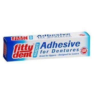 Fittydent Super Hold Denture Adhesive 40g - Denture