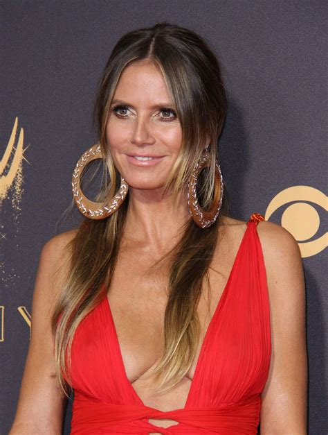 Heidi Klum Emmy Awards Los Angeles