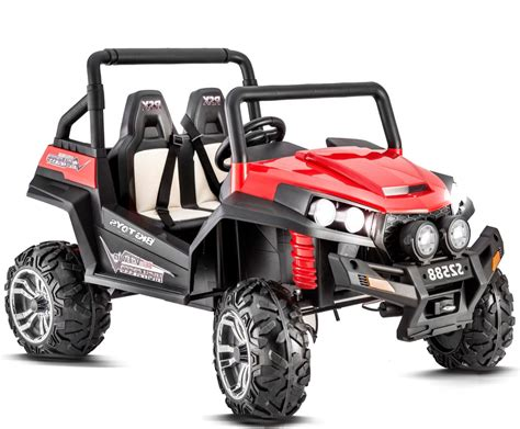 electric 4x4 vehicle 4x4 buggy red electric ride on car electric ride on