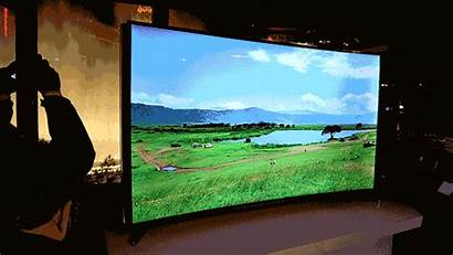 Samsung 4k Uhd Bent Ultra Getting Tvs
