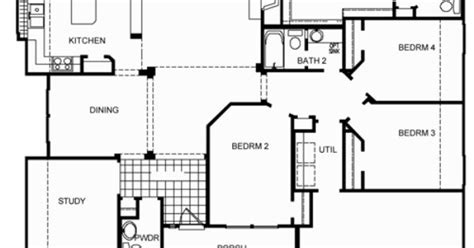 cbell floor plan by david weekley homes house