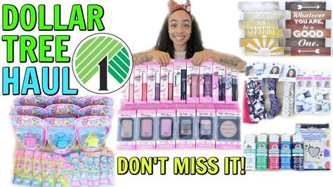 Amazing Dollar Tree Haul! New Finds! Brand Names! Youtube