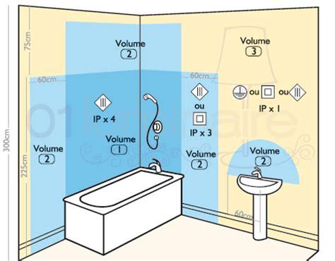 norme elec salle de bain luminaire salle de bain norme