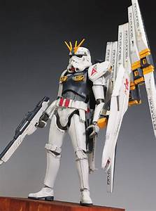 Custom, Mobile, Suit, Gundam, Stormtrooper, Figures