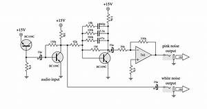 Dual White Noise And Pink Noise Generator Circuit Diagram