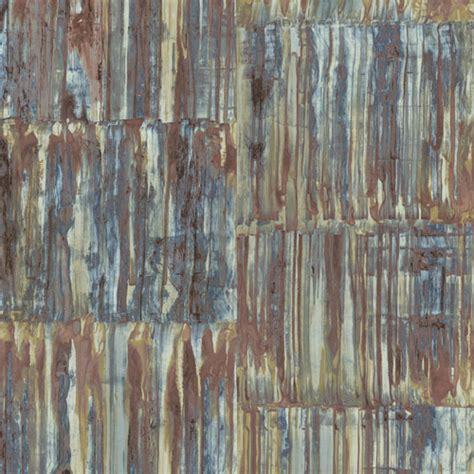 patina panels wallpaper   street prints restored