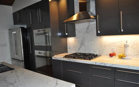 Kitchen Greysteel by Images Of Kitchens With Gray Cabinets And Black Appliances