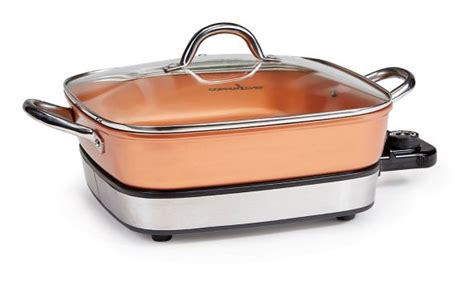 tv copper chef electric skillet set  pc canadian tire
