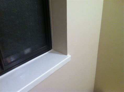 Interior Window Sill Repair by Drywall Return With Painted Wood Sill Kern In 2019