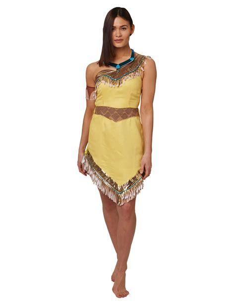 pocahontas kostüm erwachsene pocahontas lizenzkost 252 m f 252 r damen disney beige kost 252 me