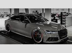 Slammed Audi A7 RS7 auf ADV1 Wheels by tuningblogeu