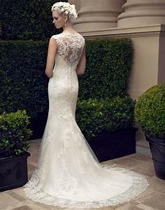 casablanca bridal 2198 jewel neck button back wedding With button back wedding dress