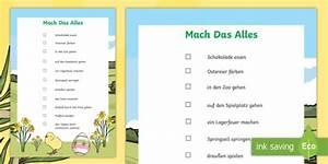 Mach Das Alles : ostern mach das alles poster din a4 easter bucket list ~ Eleganceandgraceweddings.com Haus und Dekorationen
