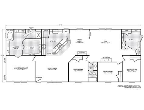 canyon lake gfleetwood homes floor plans manufactured homes floor plans fleetwood homes