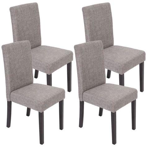 lot de chaise salle a manger lot de 4 chaises de salle à manger fauteuil littau