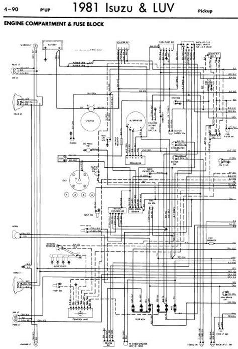 repair manuals isuzu 1981 wiring diagrams