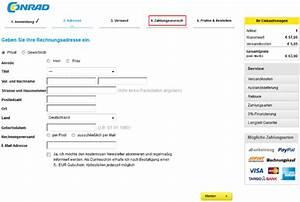 Rechnung Bei Aok Einreichen : rechnungskauf bei conrad kauf auf rechnung bei conrad ~ Themetempest.com Abrechnung