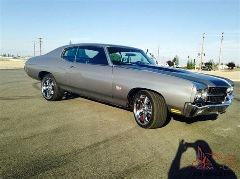 modded muscle cars 1970 chevy chevelle 454 ss tribute resto mod hotrod
