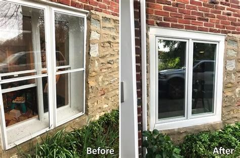 basement window replacement  casement windows