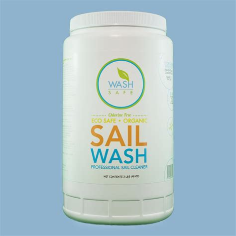 sail wash sails cleaner wind mildew stains organic taken cleaning