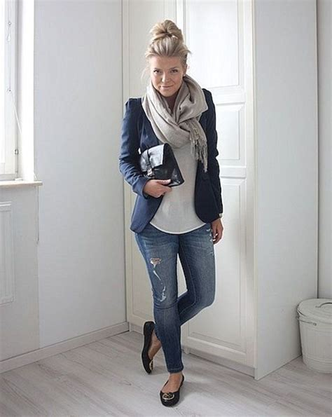 100 Cute Autumn Fashion Outfits For 2016   Flats Blazers and Autumn outfits
