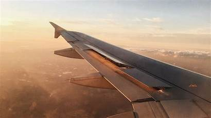 Plane Overview Airplane Propeller Widescreen Metal Wing