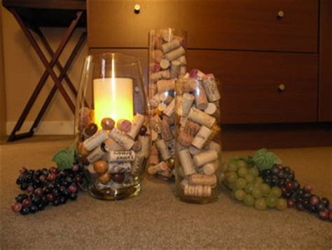 home redux decorating  wine corks