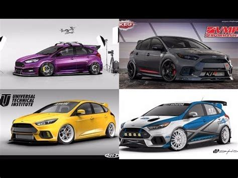 ford st 2018 tuning tuner ford focus rs st for sema 2017