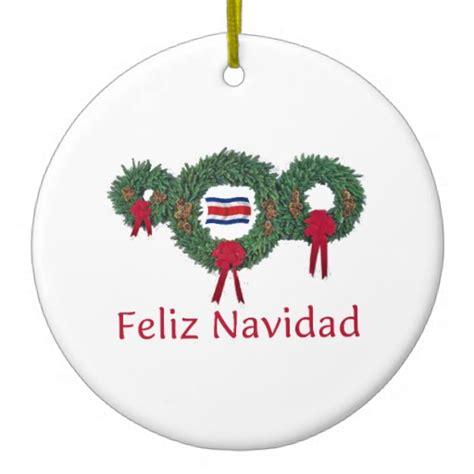 costa rica christmas 2 christmas tree ornament
