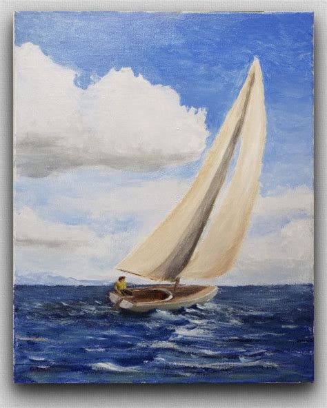 Sailing Boat Art by 25 Best Ideas About Sailboat Painting On Pinterest