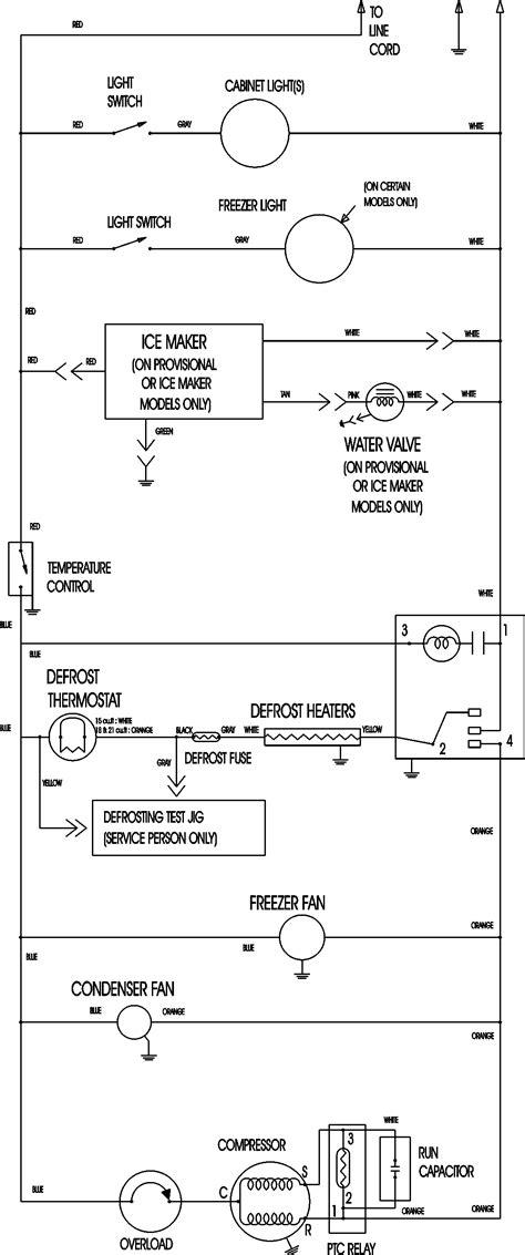 refrigeration refrigeration wiring diagrams compressor