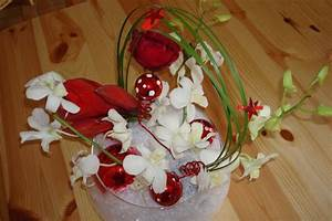 Art Floral Centre De Table Noel : centre de table de no l photo de fleur art floral atelier des jus ~ Melissatoandfro.com Idées de Décoration