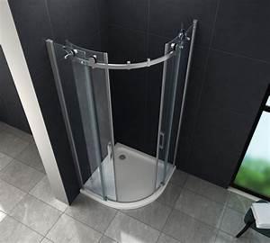 Viertelkreis Duschkabine 80x80 : duschkabine bararo 90 x 90 x 195 cm viertelkreis ohne ~ Watch28wear.com Haus und Dekorationen