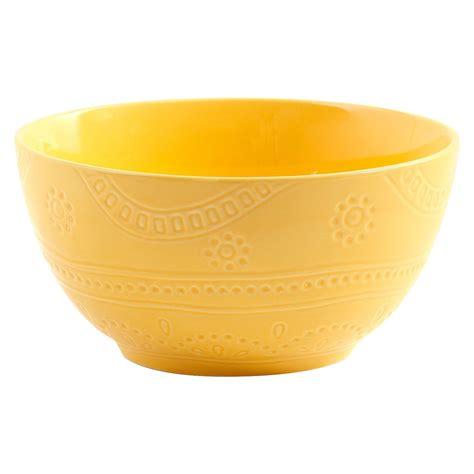 threshold kennet ceramic bowl yellow target ceramic