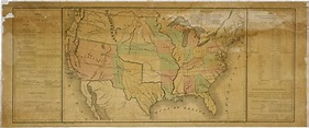 1848 Map of Western Territories | US House of ...