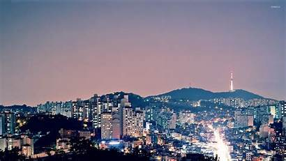 Korea Seoul South Wallpapers Korean Desktop Aesthetic